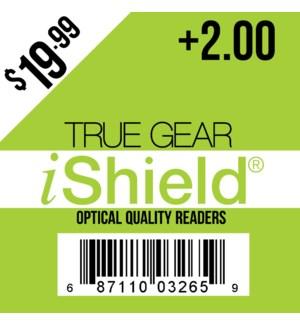 $19.99 Reader +2.00 iShield
