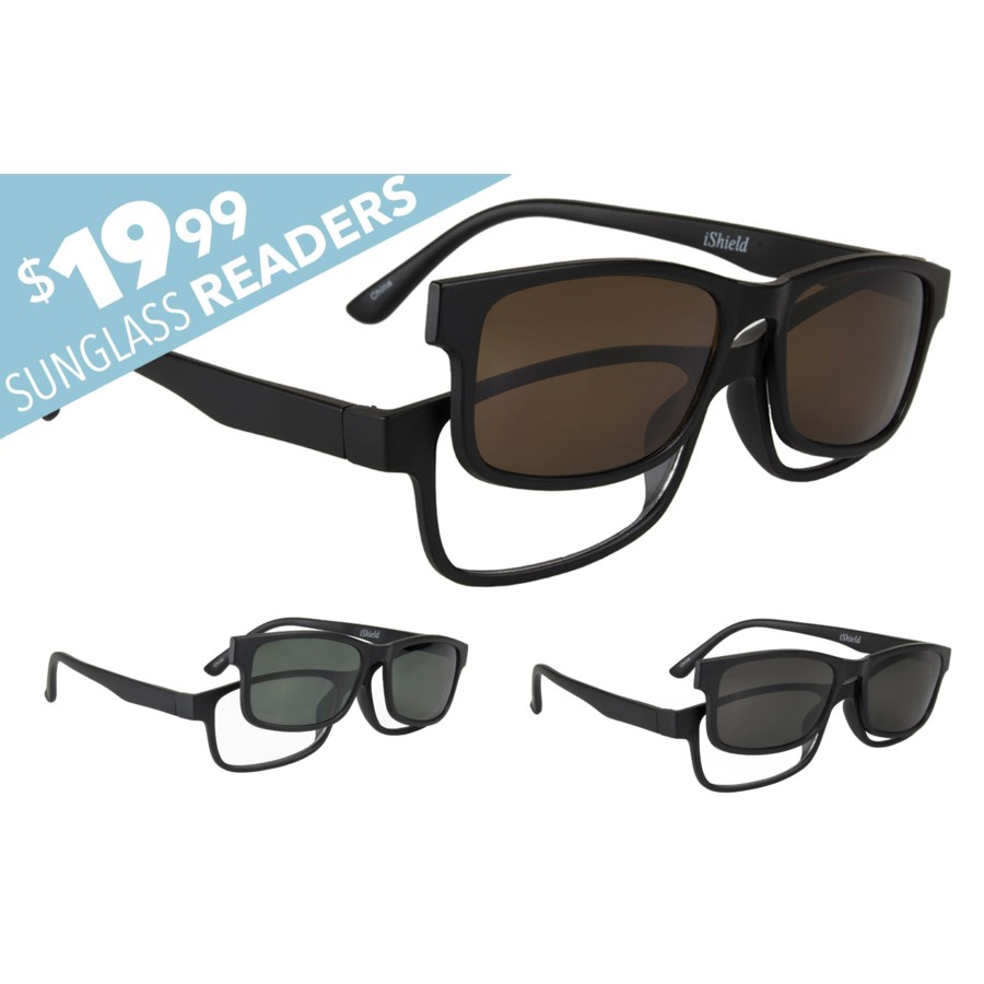 Sunglass Reader with Polarized Lens