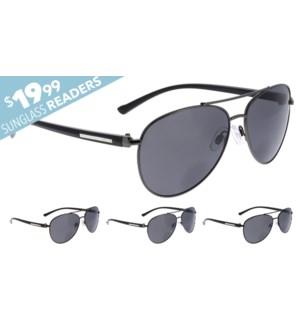 iShield $19.99 Sunglass No Line Bifocals - Karter