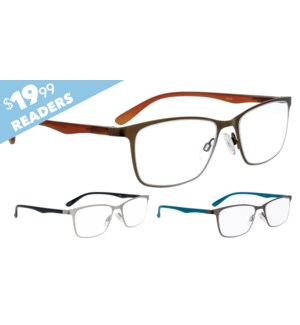 iShield $19.99 Reader - Yeats Assorted Diopters