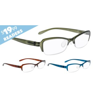 iShield $19.99 Reader - Rossetti Assorted Diopters