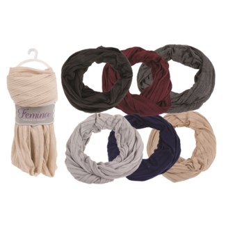 Fae - Infinity Scarf with Line Pattern Assortment