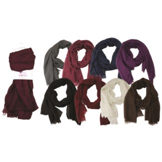 Emile - Scarf Assortment in Solid Colors