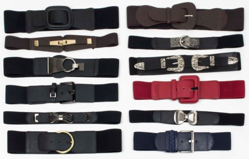 Zola - LG/XL Women's Belt Assortment