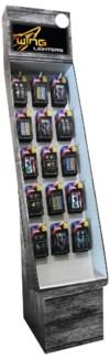 E.2pk Assorted Disposable Lighter Shipper - 288pcs