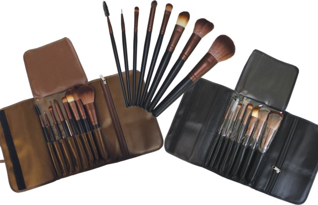Make-up Brush Set with Travel Case