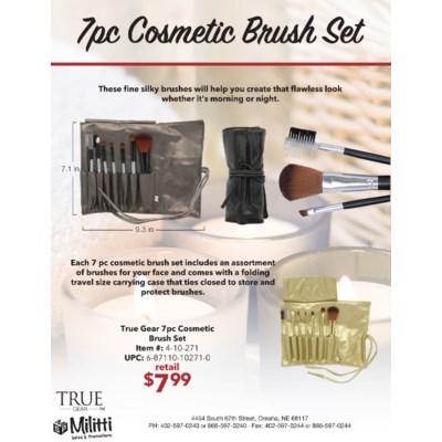 7 pc Cosmetic Brush Set