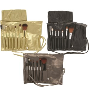 7 pc Cosmetic Brush Set