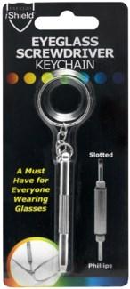 Eyeglass Screwdriver Keychain