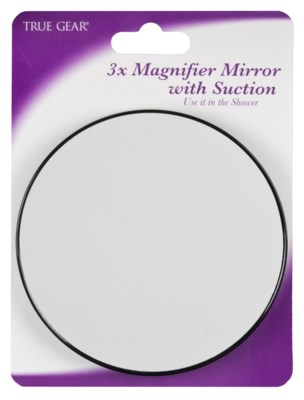 3x Magnifier Mirror with Suction