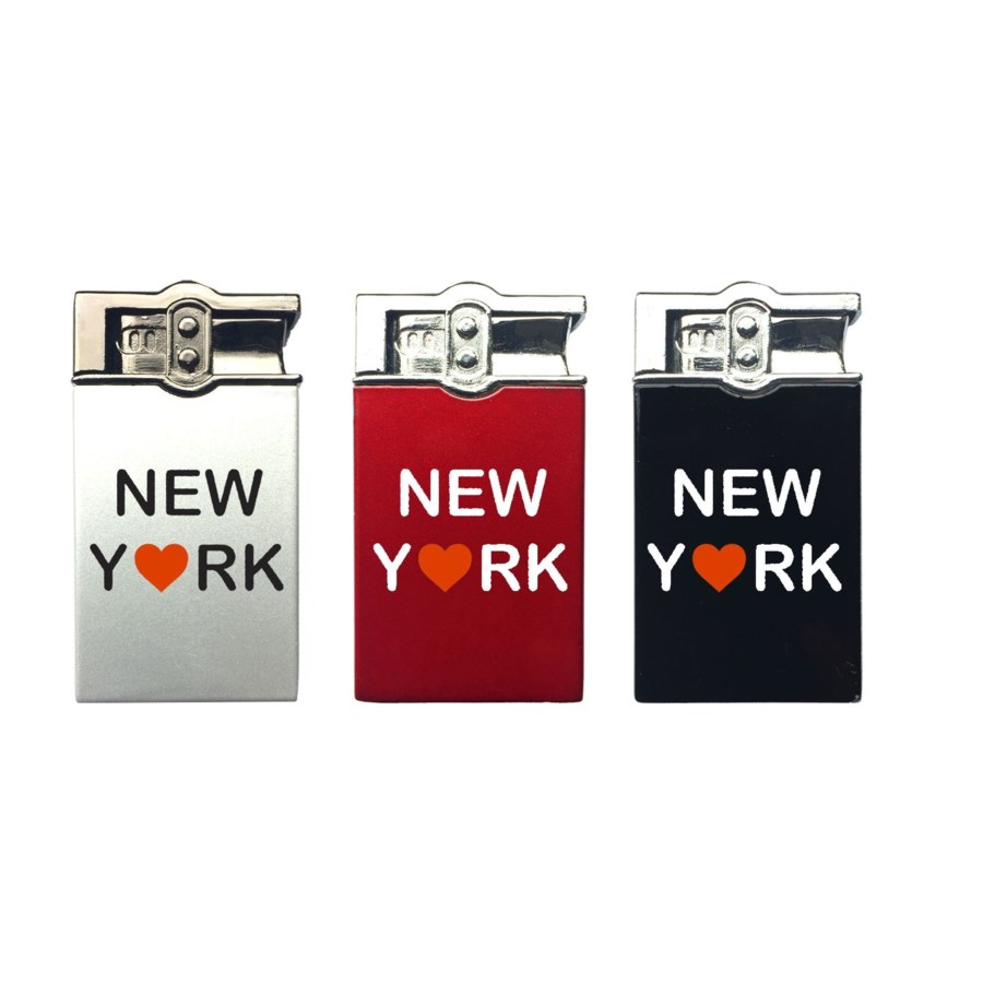 Metal Solid Colorful Brick Lighter with New York