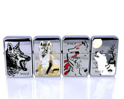 Wolf Oil Lighter