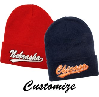 Custom Name Beanie