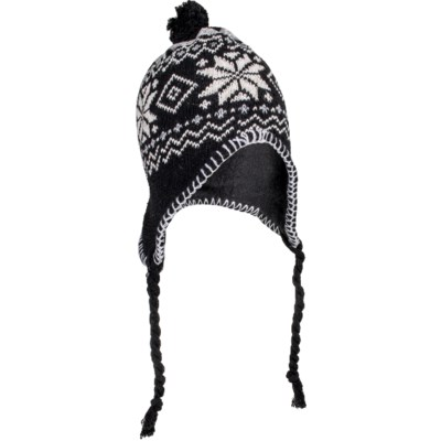 Knit Beanie with Tassels