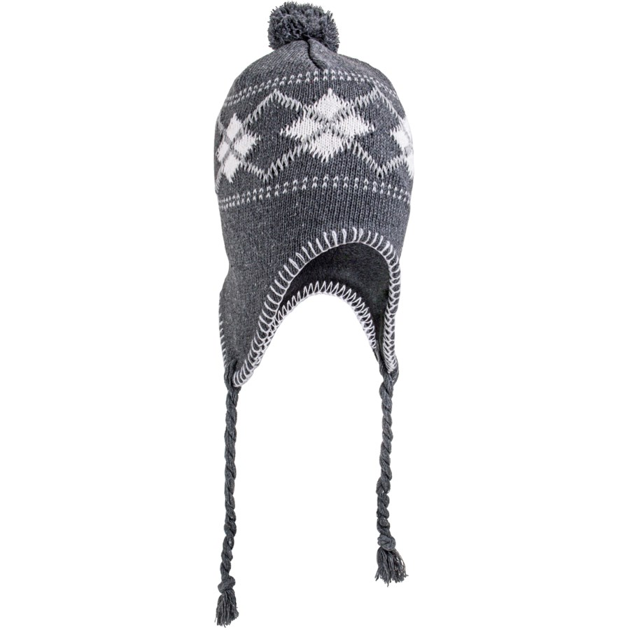 Knit Beanie with Tassels