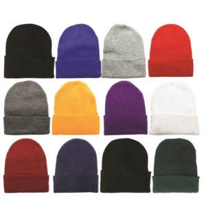 Beanies - Assorted Colors