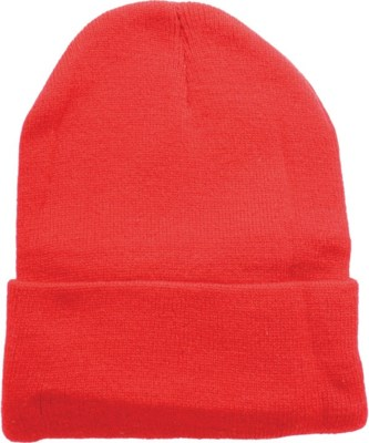 Solid Colored Beanie - Red