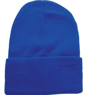 Solid Colored Beanie - Royal Blue