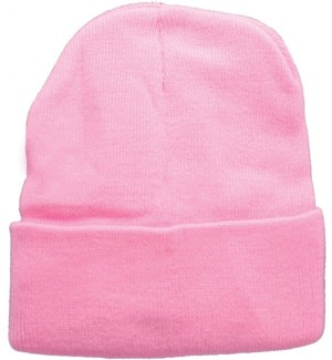 Solid Colored Beanie - Pink