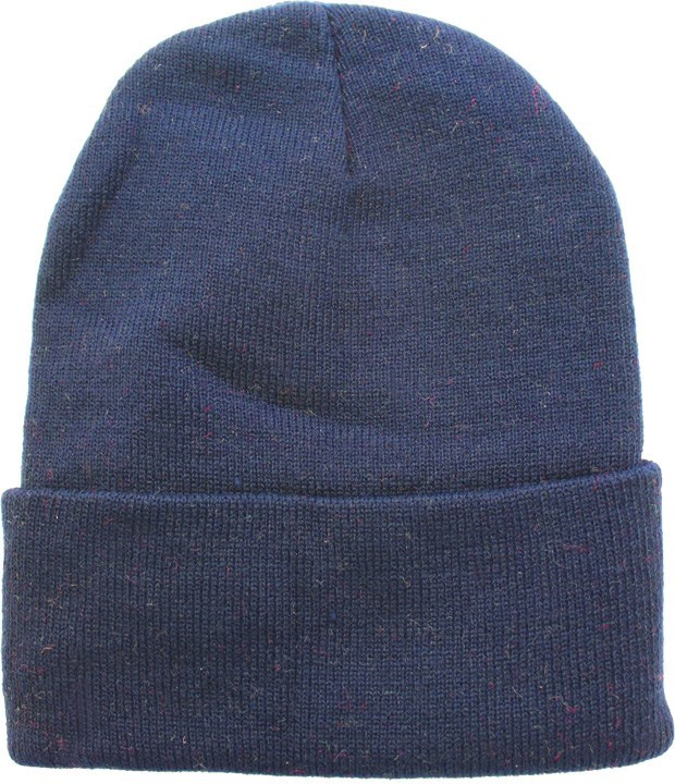 Solid Colored Beanie - Navy