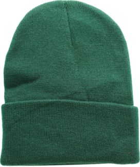 Solid Colored Beanie - Hunter Green