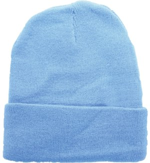 Solid Colored Beanie - Sky Blue