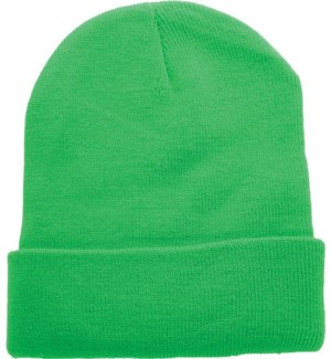Solid Colored Beanie - Kelly Green