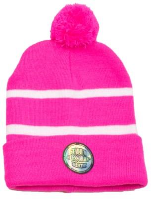 Pom Beanie Pink/White - Stadium Series