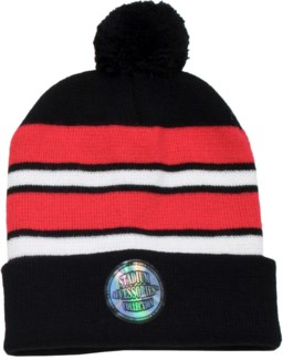 Pom Beanie Red/White/Black - Stadium Series