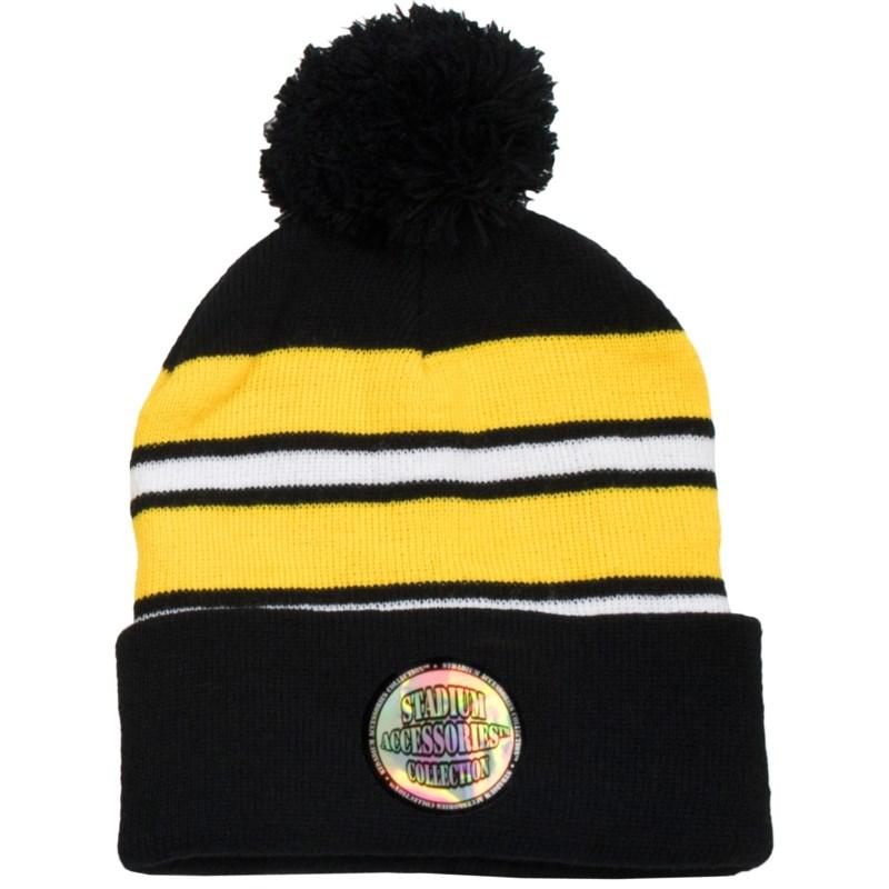 Pom Beanie Black/Gold/White - Stadium Series