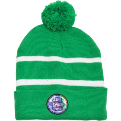 Pom Beanie Green/White - Stadium Series