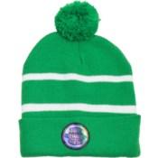 Pom Beanie Green/White - Stadium Series