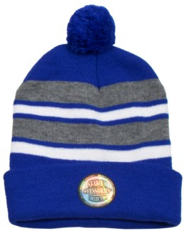 Pom Beanie Blue/Gray/White - Stadium Series