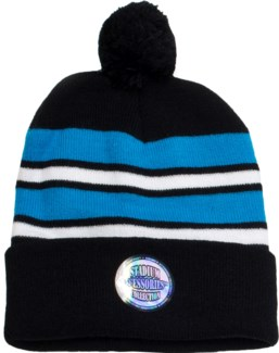 Pom Beanie Blue/White/Black - Stadium Series