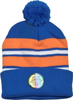 Pom Beanie Blue/Orange/White - Stadium Series