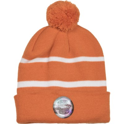 Pom Beanie Burnt Orange/White - Stadium Series