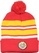 Pom Beanie Red/Gold/White - Stadium Series