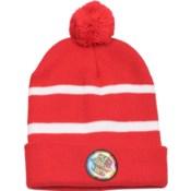 Pom Beanie Red/White - Stadium Series