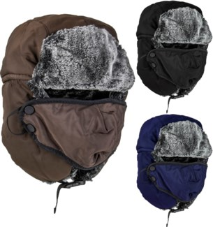 Bomber Cap with Mask