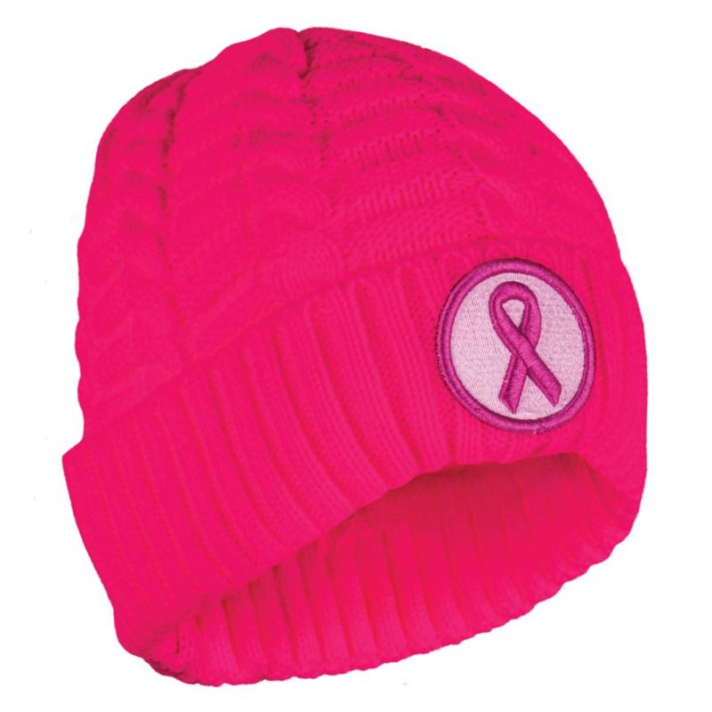 Breast Cancer Awareness Beanie