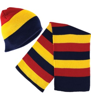 Beanie with Matching Scarf Set - Gryffin