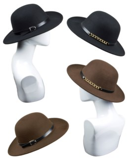 Small Rim Round Floppy Hat - Fall Fashion - Women's