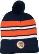 Pom Beanie Navy/Orange/White - Stadium Series