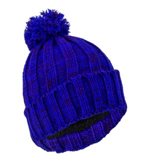 Team Spirit Pom Beanie - Blue/Red