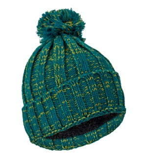 Team Spirit Pom Beanie - Green/Gold