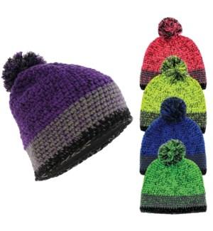 Thyra-Knit Pom Beanie