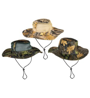 Camo Outback Hat