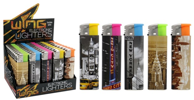 New York Electronic Lighter (50/1000)