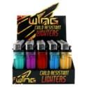 Wing Child Resistant Rolling Light Lighter (50/1000)