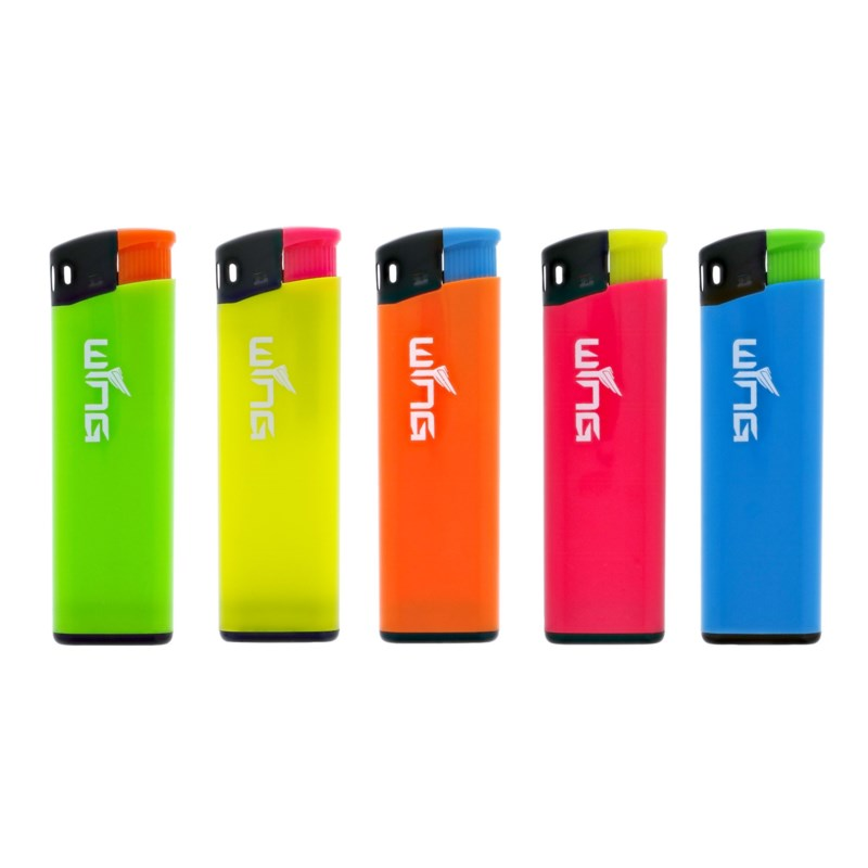 Neon Fixed Flame Electronic Lighter (50/1000)